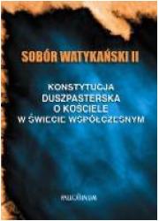 Sobór Watykański II. Konstytucja - okładka książki