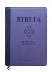 Biblia Pierwszego Kościoła fioletowa - okładka książki