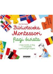 Biblioteczka Montessori. Flagi - okładka książki