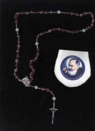 Jubileuszowy różaniec ku czci św. - zdjęcie dewocjonaliów