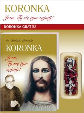 Koronka Jezu, Ty się tym zajmij. - okładka książki
