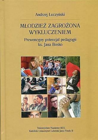 Młodzież zagrożona wykluczeniem. - okładka książki