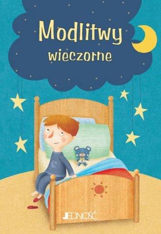 Modlitwy wieczorne Modlitwy Dzieci - okładka książki