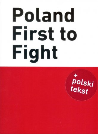 Poland First to Fight - okładka książki