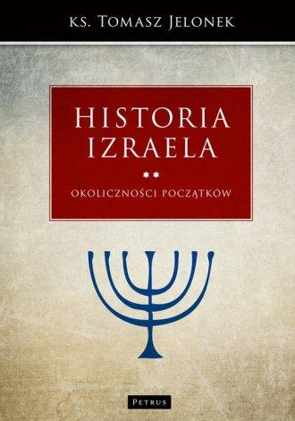 Historia Izraela. Okoliczności - okładka książki