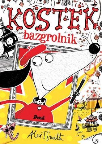 Kostek Bazgrolnik - okładka książki