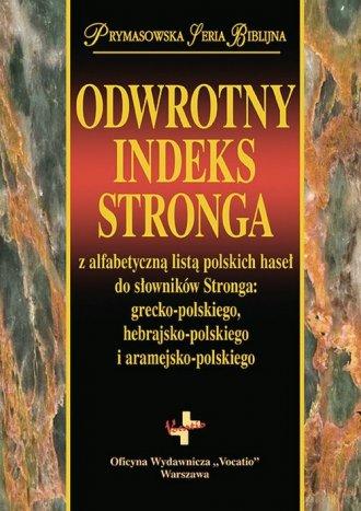Odwrotny indeks Stronga. Prymasowska - okładka książki