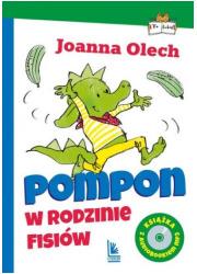 Pompon w rodzinie Fisiów (z audiobookiem) - okładka książki
