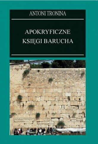 Apokryficzne księgi Barucha - okładka książki