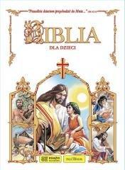 Biblia dla dzieci (biała) - okładka książki