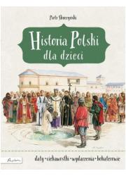 Historia Polski dla dzieci - okładka książki