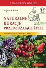 Naturalne kuracje przedłużające - okładka książki