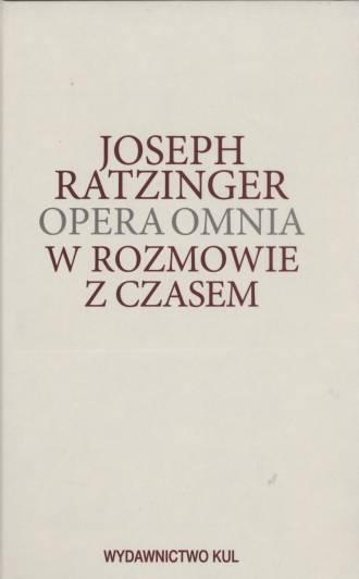 Opera omnia. Tom XIII/3. W rozmowie - okładka książki