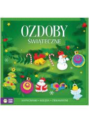 Ozdoby świąteczne - okładka książki