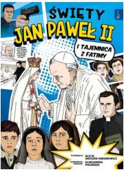 Święty Jan Paweł II i tajemnica - okładka książki