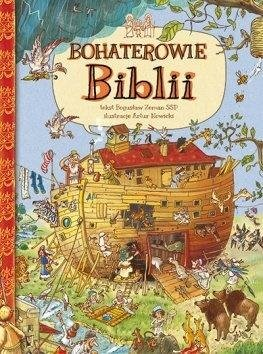 Bohaterowie Biblii - okładka książki