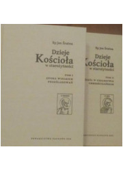 Dzieje Kościoła w starożytności - okładka książki