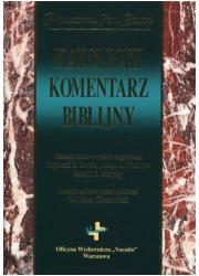 Katolicki komentarz biblijny. Prymasowska - okładka książki