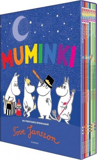 Muminki. Wielka kolekcja (8) - okładka książki