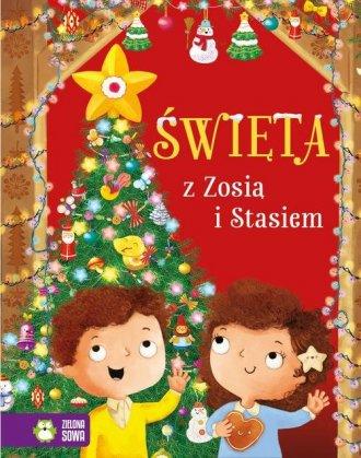 Święta z Zosią i Stasiem - okładka książki