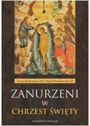 Zanurzeni w chrzest święty - okładka książki