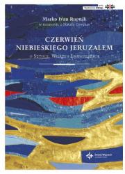 Czerwień niebieskiego Jeruzalem. - okładka książki