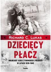 Dziecięcy płacz. Holokaust dzieci - okładka książki