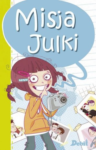 Misja Julki - okładka książki