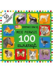 Moje pierwsze 100 zwierząt - okładka książki