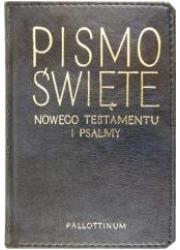 Pismo Święte NT i psalmy - ekoporawa - okładka książki