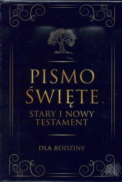 Pismo święte st i nt duże - dla - okładka książki