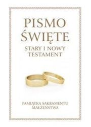 Pismo Święte ST i NT duże - Pam. - okładka książki