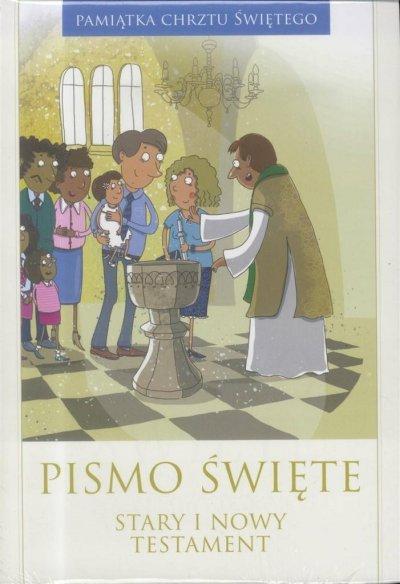 Pismo Święte ST i NT duże - Pamiątka - okładka książki