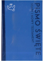 Pismo Święte ST i NT małe niebieskie - okładka książki