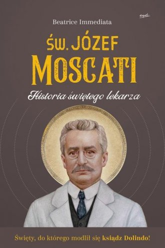 Św. Józef Moscati. Historia świętego - okładka książki