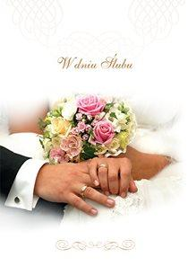 W dniu ślubu - okładka książki