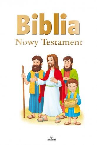 Biblia. Nowy Testament - okładka książki