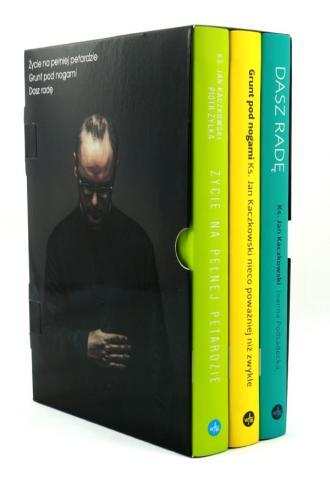 Bestsellery ks. Jana Kaczkowskiego. - okładka książki