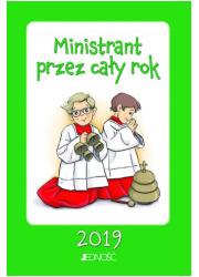 Ministrant przez cały rok 2019 - okładka książki