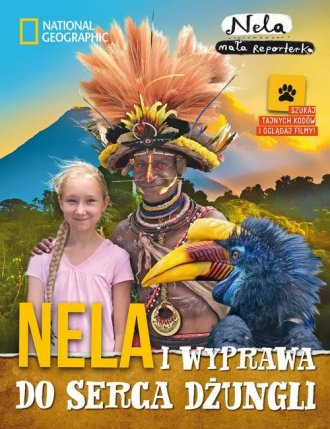 Nela i wyprawa do serca dżungli - okładka książki