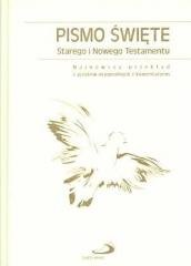 Pismo Święte ST i NT, paginatory - okładka książki