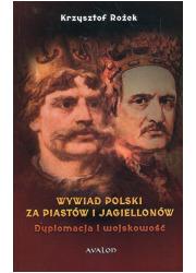 Wywiad polski za Piastów i Jagiellonów. - okładka książki