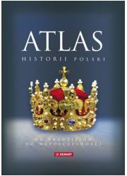 Atlas historii Polski. Od pradziejów - okładka książki