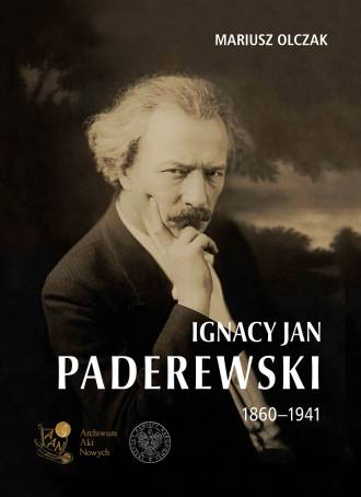 Ignacy Jan Paderewski 1860-1941 - okładka książki
