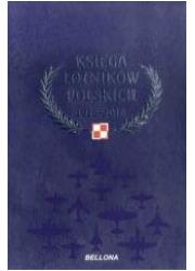 Księga lotników polskich 1918-2018 - okładka książki
