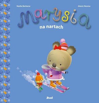 Marysia na nartach - okładka książki