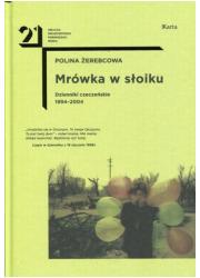 Mrówka w słoiku. Dzienniki czeczeńskie - okładka książki