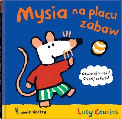 Mysia na placu zabaw - okładka książki