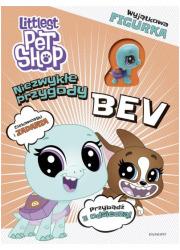 Littlest Pet Shop. Niezwykłe przygody - okładka książki
