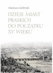 Dzieje miast praskich do początku - okładka książki